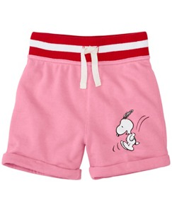 Peanuts Toddler Shorts In French Terry by Hanna Andersson
