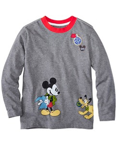 Boys Disney Mickey Mouse Tee In Supersoft Jersey by Hanna Andersson