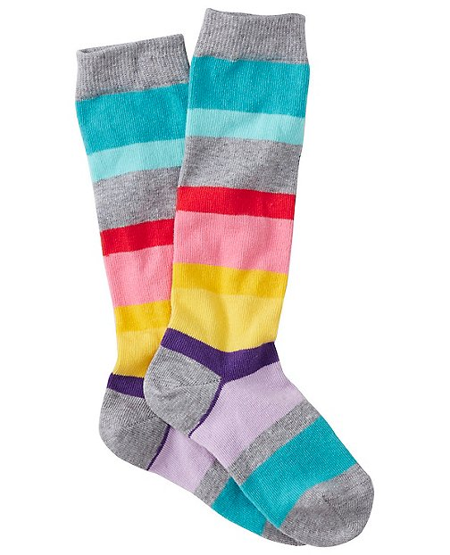 Kids Pitter Pattern Knee Socks by Hanna Andersson