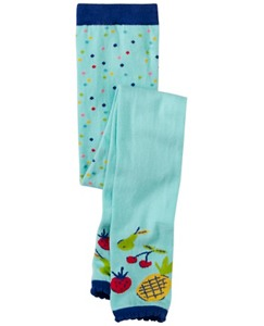 Girls Fun Footless Ankle Tights by Hanna Andersson