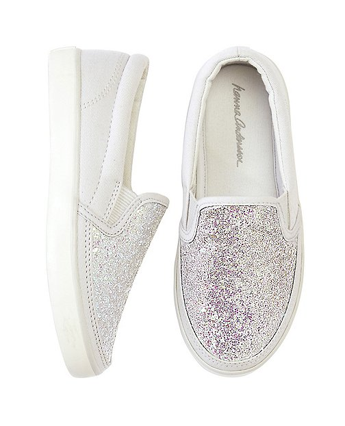 Girls Maria Glitter Sneakers By Hanna