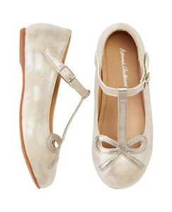 Girls Elin T-Strap Flats By Hanna