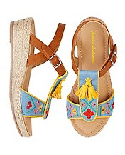 Girls Anka Espadrille Sandals By Hanna