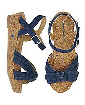 Girls Cathrin Wedge Sandals By Hanna