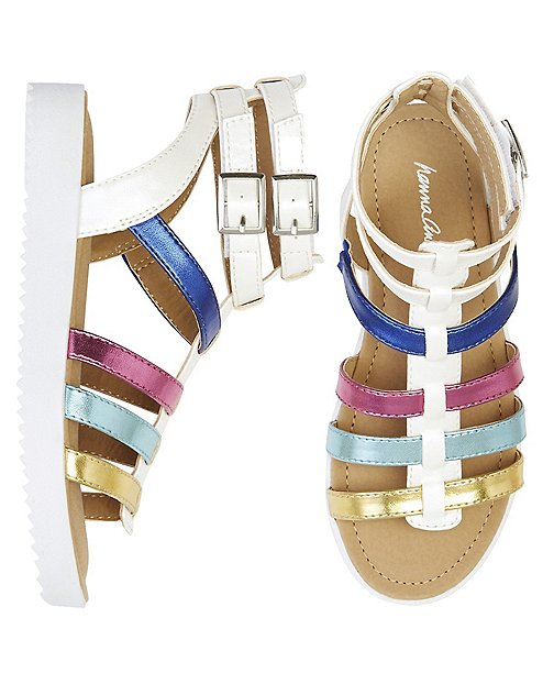 Girls Lena Gladiator Sandals By Hanna