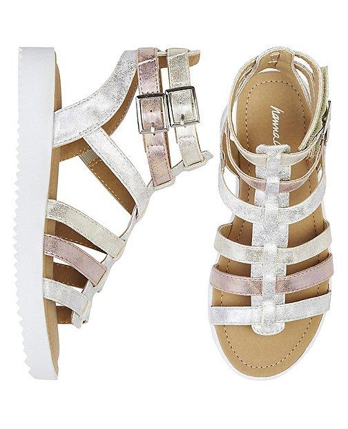 Girls Lena Gladiator Sandals By Hanna