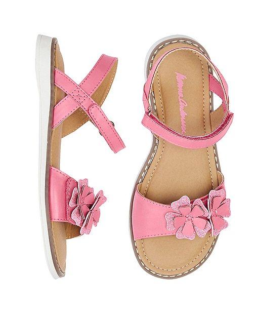 Girls Katarina Flower Sandals By Hanna