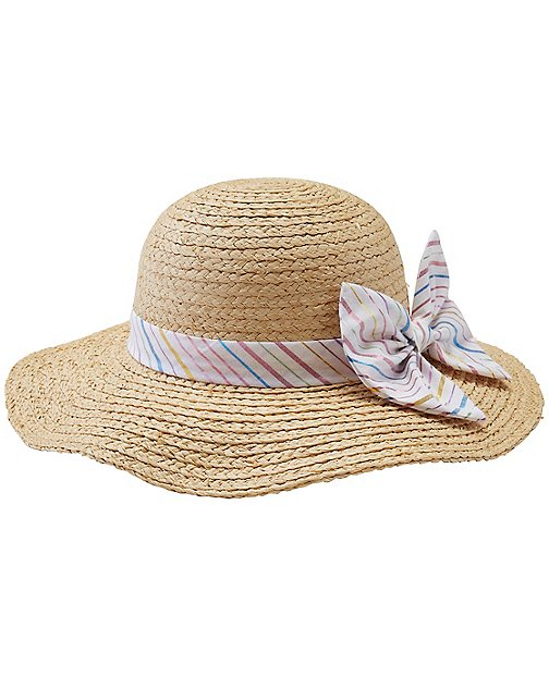 Girls Straw Hat by Hanna Andersson