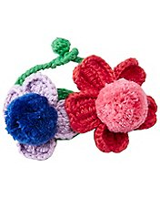 Girls Handcrafted Crochet Bracelet by Hanna Andersson