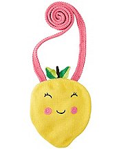Girls Handcrafted Crochet Crossbody Bag by Hanna Andersson