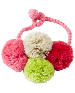 Girls Handcrafted Crochet Charm Bracelet by Hanna Andersson