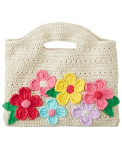 Kids Handcrafted Crochet Clutch by Hanna Andersson