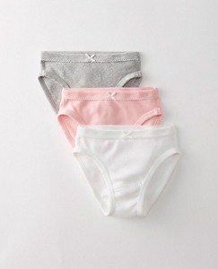 Girls Mid-Rise Hipster Unders 3 Pack In Organic Cotton With Stretch by Hanna Andersson