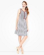 Women Stripes Of Summer Dress by Hanna Andersson