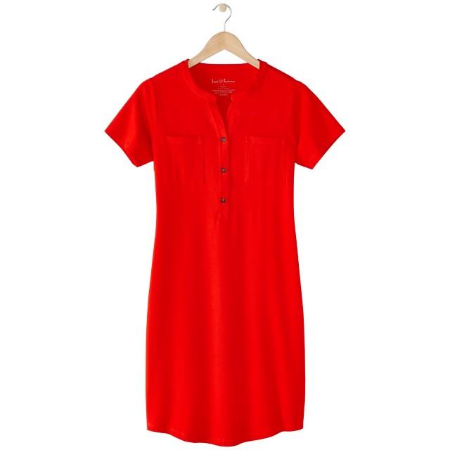 Women's Modern Henley Dress by Hanna Andersson