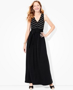 Women's Front Tie Maxi Dress by Hanna Andersson