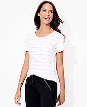 Women's Pima Pocket Tee by Hanna Andersson
