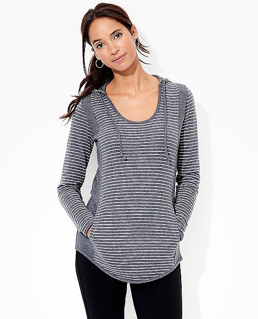 Women's Hoodie Pullover In Pima Doubleknit by Hanna Andersson