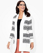 Women Scandi Cardigan In Pure Cotton by Hanna Andersson