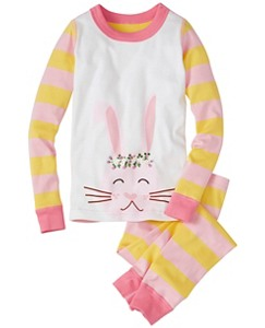 Kids Long John Pajamas In Organic Cotton by Hanna Andersson