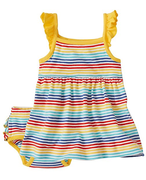 Baby Ruffle Sundress Set by Hanna Andersson