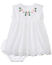 Toddler Lilla White Dress Set by Hanna Andersson