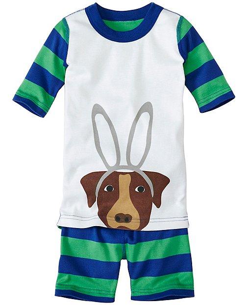 Kids Short John Pajamas In Organic Cotton by Hanna Andersson