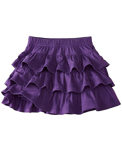 Girls Three Tiers Scooter Skirt by Hanna Andersson