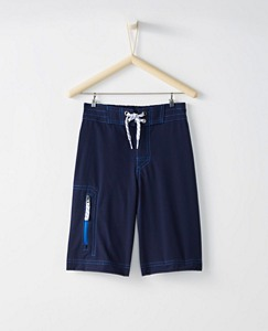 Boys Land & Water Board Shorts with UPF 50+ by Hanna Andersson