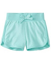 Girls Sunsoft Terry Shorts by Hanna Andersson