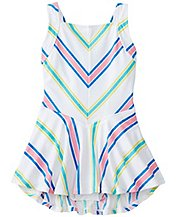Girls Skirty Crossback One Piece by Hanna Andersson