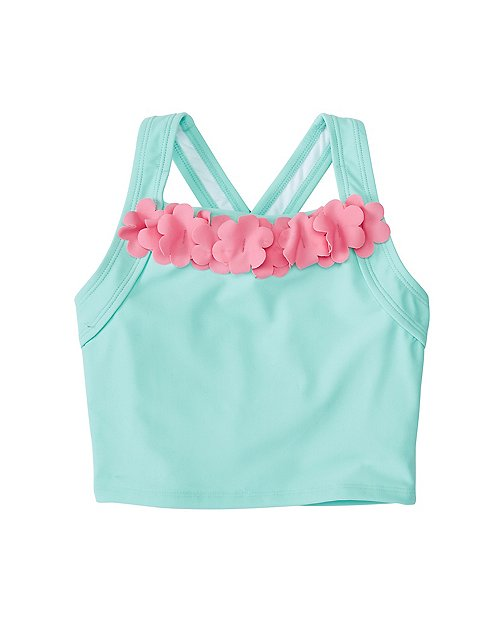Girls Flutter Tankini Top by Hanna Andersson