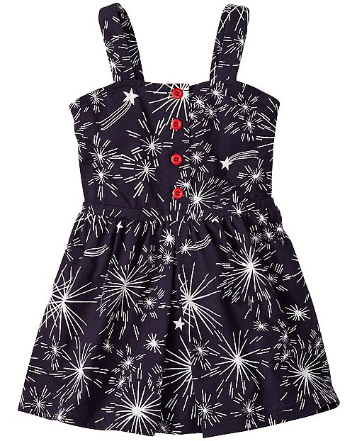 Girls Cartwheel Scooter Dress by Hanna Andersson