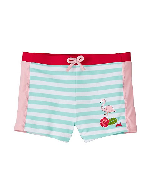 Girls Disney Minnie Mouse Boyshort Swim Bottoms by Hanna Andersson