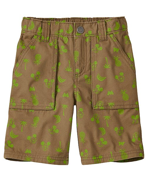 Boys Disney Mickey Mouse Cargo Shorts by Hanna Andersson