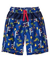 Boys Disney Mickey Mouse Board Shorts With UPF 50+ by Hanna Andersson