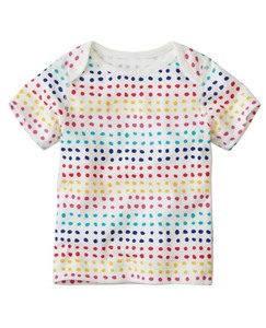 Baby Lap Shoulder Tee In Organic Cotton by Hanna Andersson