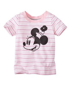 Toddler Disney Minnie Mouse Tee In Supersoft Jersey by Hanna Andersson