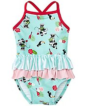 Baby Disney Minnie Mouse Ruffle One Piece by Hanna Andersson