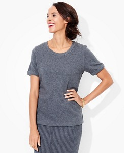 Women's French Terry Tee In 100% Cotton by Hanna Andersson