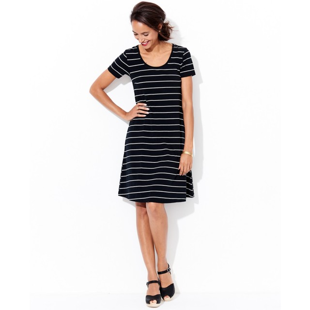 Women's Scoopneck Pima Dress by Hanna Andersson