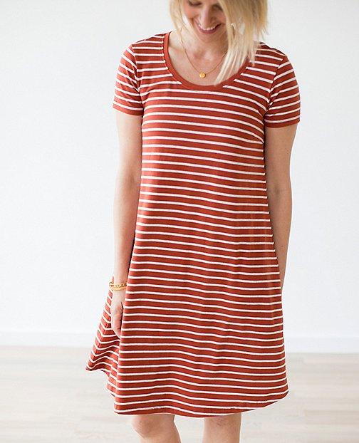 Women Scoopneck Pima Dress by Hanna Andersson