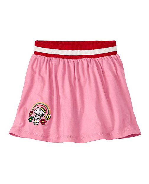 Peanuts Girls Sport Scooter Skirt by Hanna Andersson