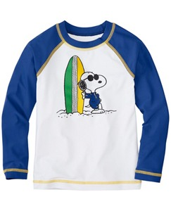 Peanuts Boys Sun-Ready Rash Guard by Hanna Andersson
