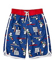 Peanuts Boys Swim Trunks With UPF 50+ by Hanna Andersson
