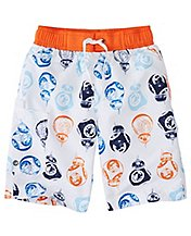 Star Wars™ Boys The Force Awakens Board Shorts With UPF 50+ by Hanna Andersson
