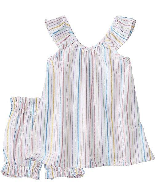 Toddler Shimmer Sundress & Bloomer Set by Hanna Andersson