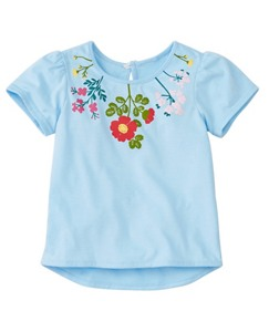 Toddler Hello World Tee In Supersoft Jersey by Hanna Andersson