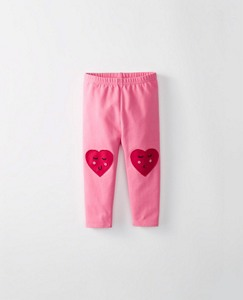Toddler Knee Patch Leggings by Hanna Andersson