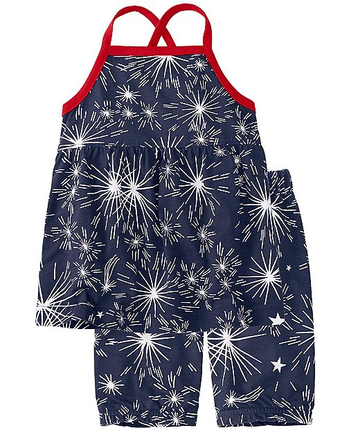 Toddler Crossback Suntop & Shorts Set by Hanna Andersson